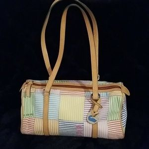 Dooney & Bourke satchel patchwork handbag